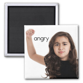 Angry Refrigerator Magnet