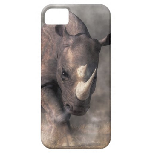 Angry Rhino iPhone 5 Cases
