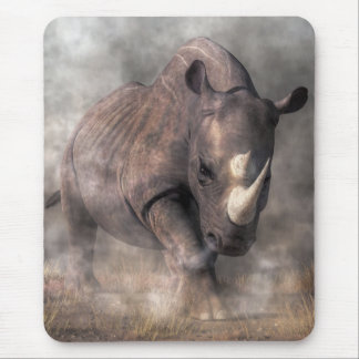 Angry Rhino Mouse Mat