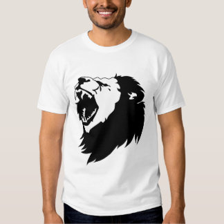 Angry Roaring Lion Shirt