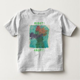 Angry Robot Toddler T-Shirt