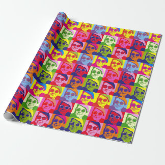 Angry Salmond Wrapping Paper