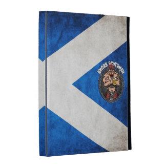 Angry Scotsman Ipad iPad Folio Cover