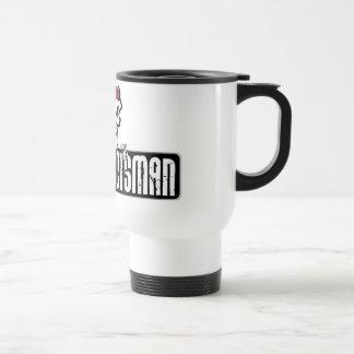 Angry-Scotsman Skull Travel Mug