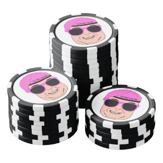 Angry Set Of Poker Chips