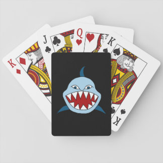 Angry Shark Poker Deck