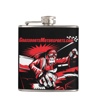 Angry Shifter Guy Flask