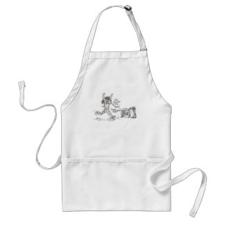 Angry Shopper Standard Apron