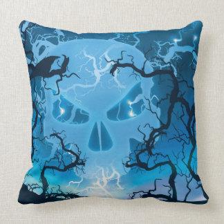 Angry Skull Cushion