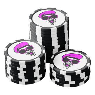 Angry Skull Poker Chips Set