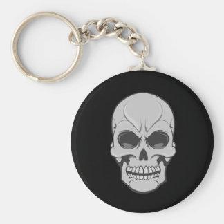 Angry Skull: Vector Illustration: Keychain
