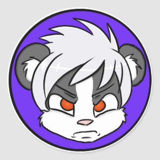 Angry Skunk Stickers