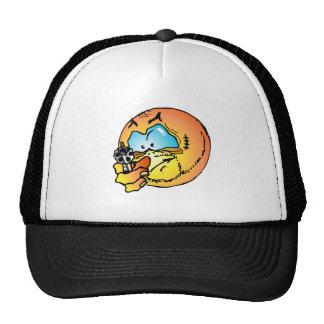 Angry smiley hats