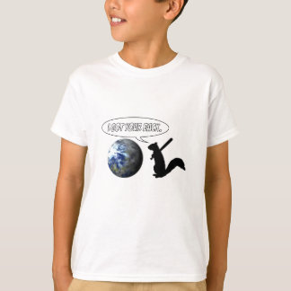 Angry Squirrel Saves Planet T-shirt