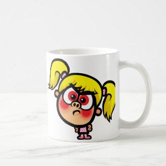 Angry Stacey Basic White Mug