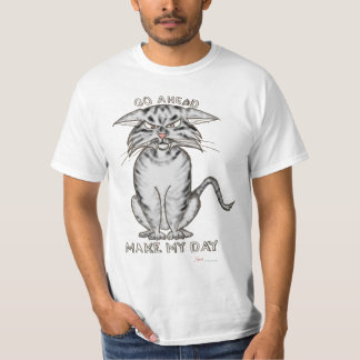 Angry Tabby Cat T-Shirt