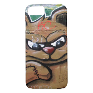 angry teddy iPhone 7 case