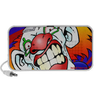 Angry the Clown Mp3 Speakers