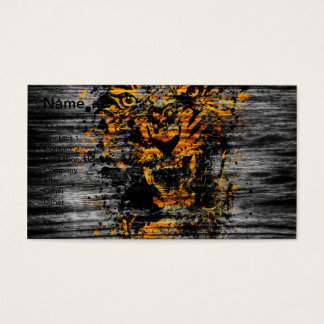 Angry Tiger Business Card