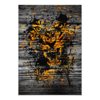 Angry Tiger Card
