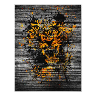 Angry Tiger Invite