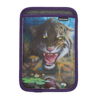 Angry tiger iPad mini sleeves