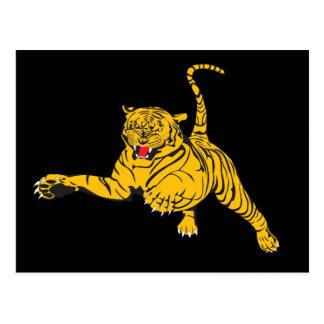 Angry Tiger Postcards