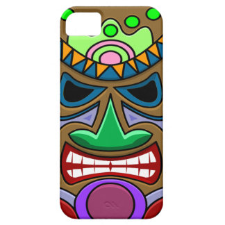 Angry Tiki iPhone 5 Cover
