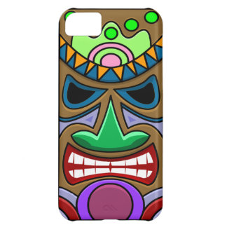 Angry Tiki iPhone 5C Case