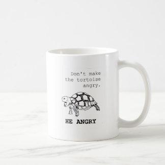 Angry Tortoise Basic White Mug
