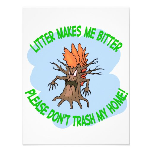 angry tree invitations