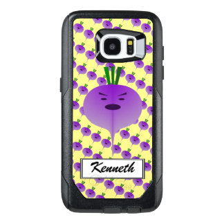 Angry Turnip by Kenneth Yoncich OtterBox Samsung Galaxy S7 Edge Case