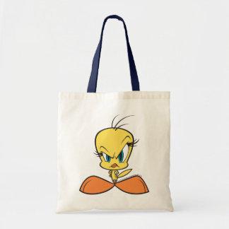 Angry Tweety Budget Tote Bag