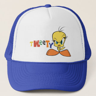 Angry Tweety Trucker Hat