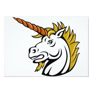 Angry Unicorn Invitations
