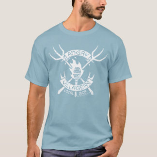 Angry Villagers T-Shirt (White/Denim Blue)