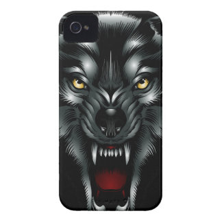 Angry Wolf Face Blackberry Bold Case