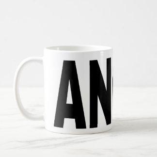 ANGRY word mug