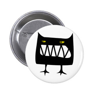 Angry Wossum Pinback Button