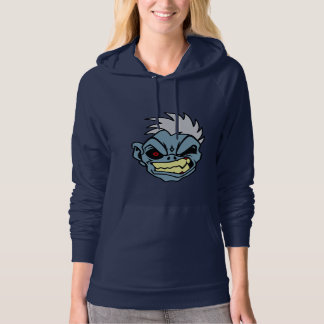 Angry Zombie Women's Pullover Hoodie