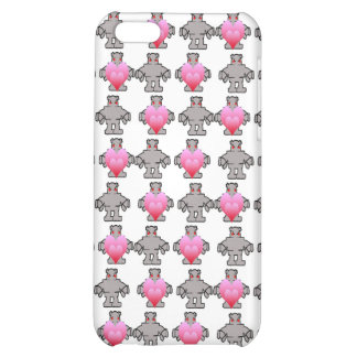 AngryBot LoveBot iPhone 5C Cases