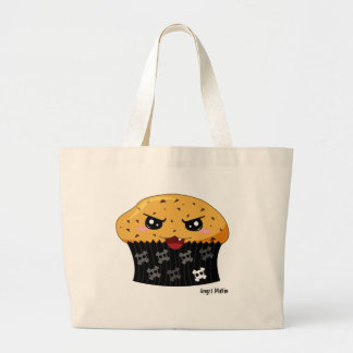 Angst Muffin Large Tote Bag