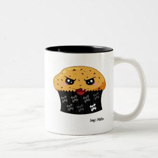 Angst Muffin Two-Tone Coffee Mug
