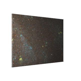 ANGST Survey Galaxy - NGC 3001 Canvas Prints