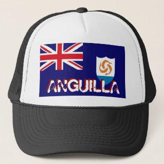 Anguilla anguillan flag trucker mesh souvenir hat