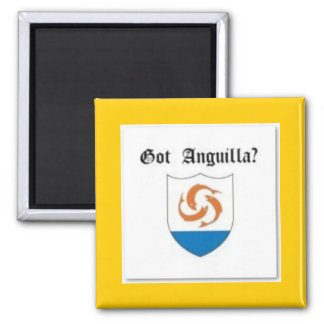 Anguilla, Caribbean T-Shirt And Etc Square Magnet