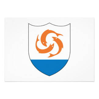 Anguilla Coat of Arms Custom Announcements