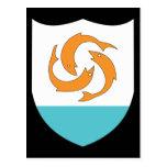 Anguilla Coat Of Arms Postcard