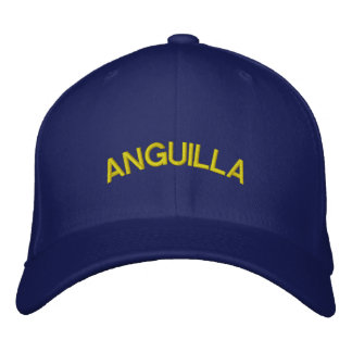 ANGUILLA EMBROIDERED HAT