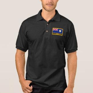 Anguilla Flag Polo Shirt